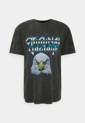 BOLD TEE - Print T-shirt - black