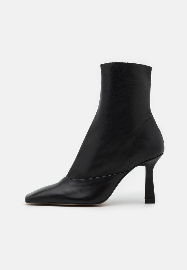 ARIA CHISEL TOE - High heeled ankle boots - black