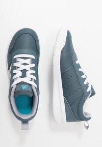 adidas Performance - VECTOR K UNISEX - Sports shoes - legend blue/footwear white/glow grey - 0