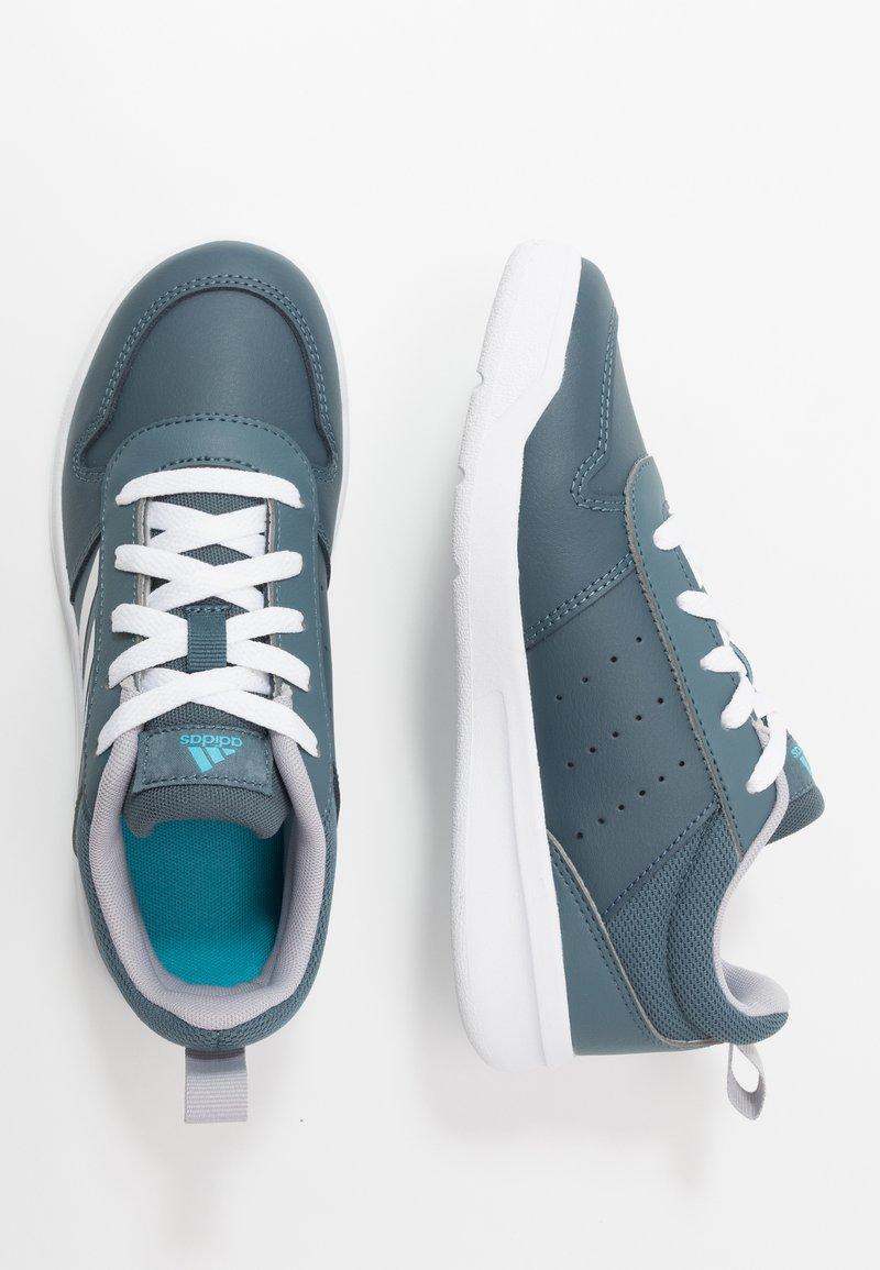 adidas Performance - VECTOR K UNISEX - Sports shoes - legend blue/footwear white/glow grey