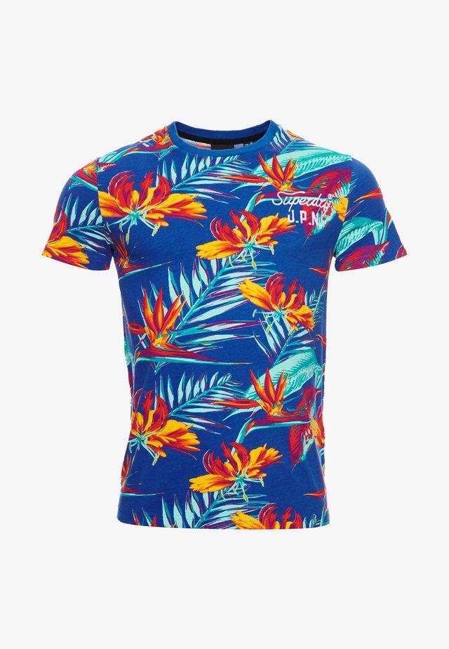 SUPPLY - T-shirt imprimé - blue