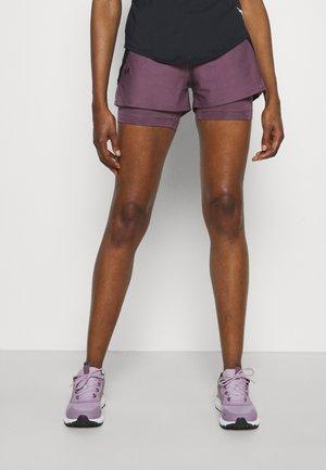 PLAY UP SHORTS - Sports shorts - purple/black