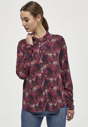 JANE - Button-down blouse - navy