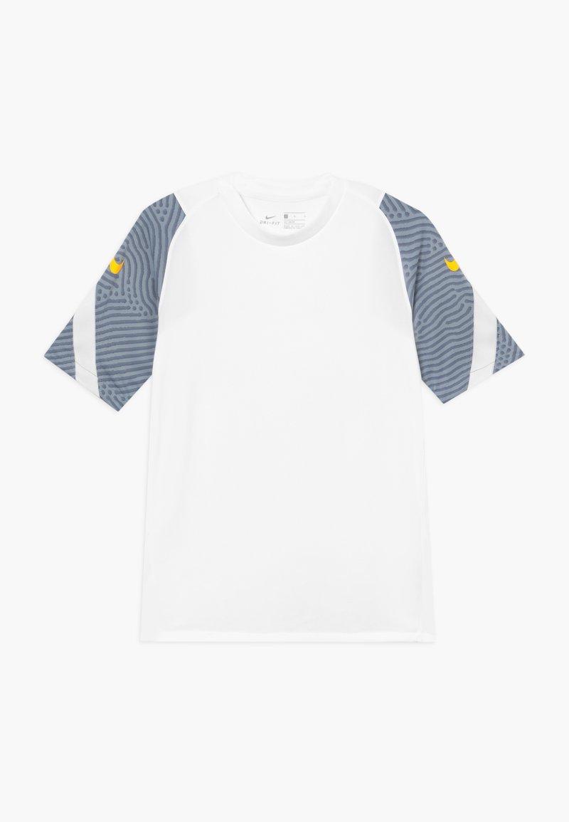 Nike Performance - Print T-shirt - white/laser orange