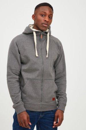SPEEDY - Zip-up sweatshirt - dark grey