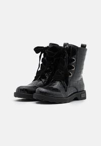 KHARISMA - Šněrovací kotníkové boty - nero - 2