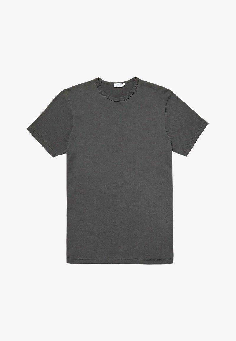 Sunspel - Basic T-shirt - charcoal