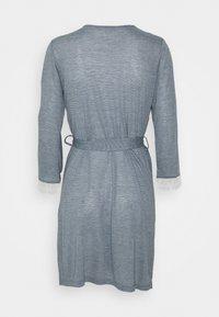 Etam - WARM DAY DESHABILLE - Dressing gown - marine - 1