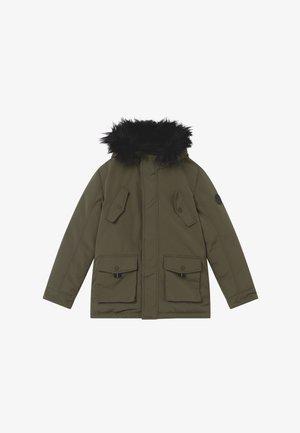 OPAK - Zimní kabát - khaki