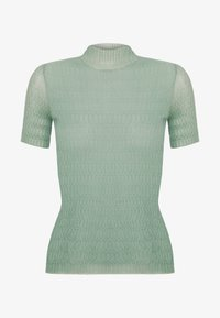 MRZ - KNIT TOP - Jednoduché triko - dusty green - 4