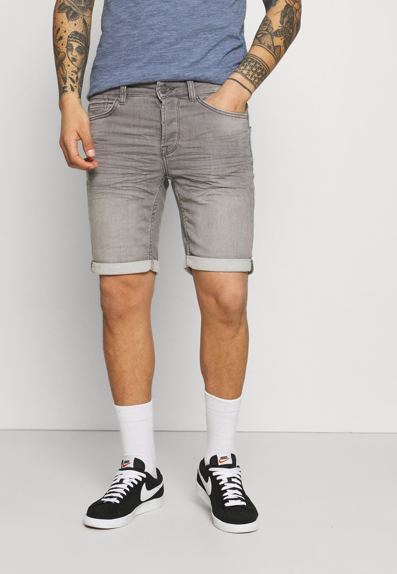 Only & Sons - ONSPLY LIFE  - Jeansshort - grey denim