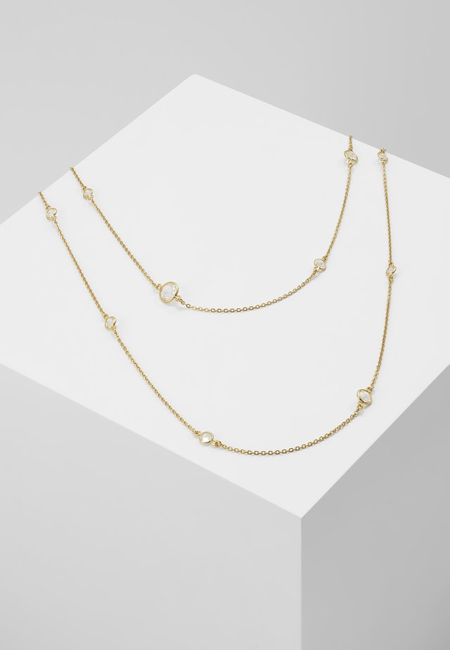 AVA STATION NECKLACE - Collana - gold-coloured