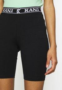 Karl Kani - COLLEGE CYCLING - Shorts - black/white - 4