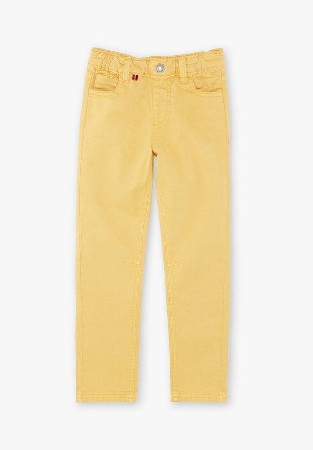 Vaqueros rectos - yellow