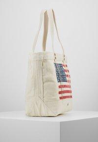 Polo Ralph Lauren - FLAG TOTE - Shopping Bag - ecru - 3