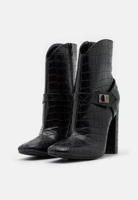 Glamorous - Ankelboots med høye hæler - black - 2