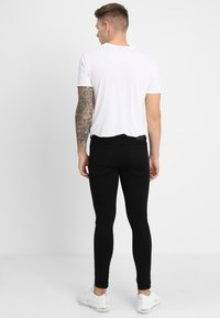 Gym King - SKINNY PLAIN  - Skinny-Farkut - black - 2