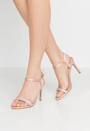 BLINK PART  - Sandalias de tacón - blush