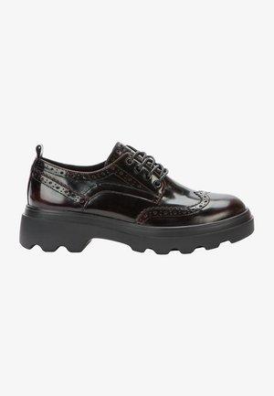 Zapatos de vestir - wine red