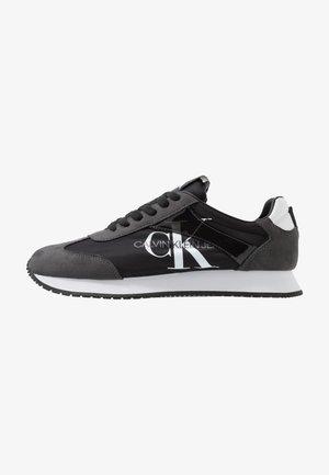 JESTER - Sneakersy niskie - black/gray