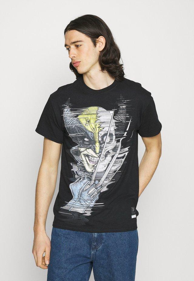 WOLVERINE VINTAGE TEE - Print T-shirt - black