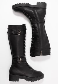 Refresh - Platform boots - black - 3
