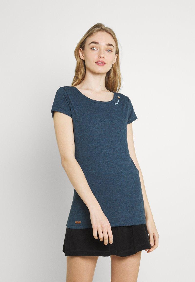 Ragwear - Basic T-shirt - navy