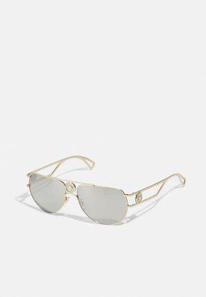UNISEX - Sluneční brýle - pale gold-coloured