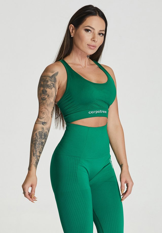 ESSENTIAL SEAMLESS - Sport BH - green