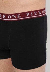 Pier One - 3 PACK - Shorty - black - 4