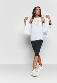 adidas Performance - TECH BOS TANK - Treningsskjorter - white/black - 1