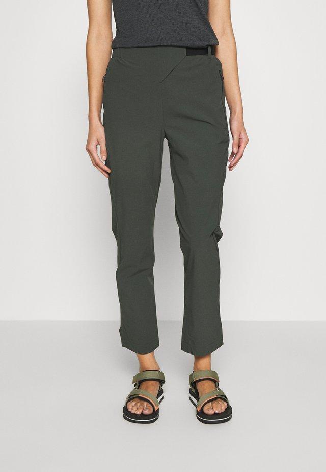 HIKE TECHNICAL HIKING PANTS - Trousers - dark green