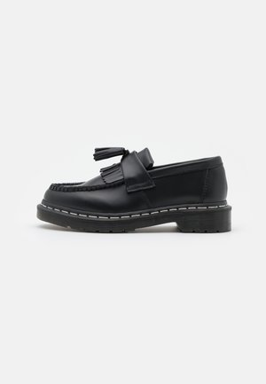 ADRIAN UNISEX - Mocassins - black smooth
