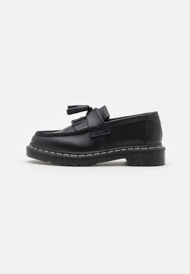 ADRIAN UNISEX - Slippers - black smooth