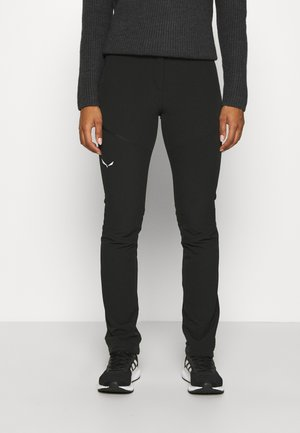 PUEZ DOLOMITIC - Outdoor trousers - black out