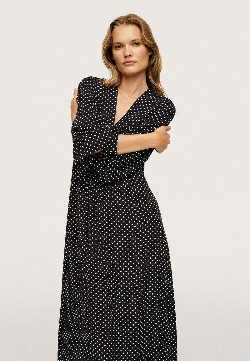 Mango - Maxi dress - zwart