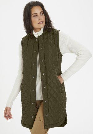 KAMARIA  - Bodywarmer - grape leaf