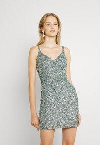 Lace & Beads - GRAISON MINI - Cocktail dress / Party dress - teal - 0
