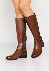 Caprice - BOOTS - Vysoká obuv - cognac - 0