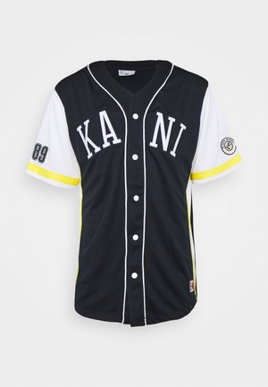COLLEGE BASEBALL SHIRT - Košile - navy