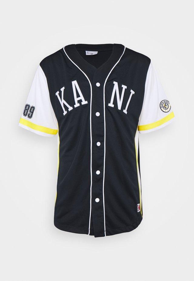 COLLEGE BASEBALL SHIRT - Camisa - navy