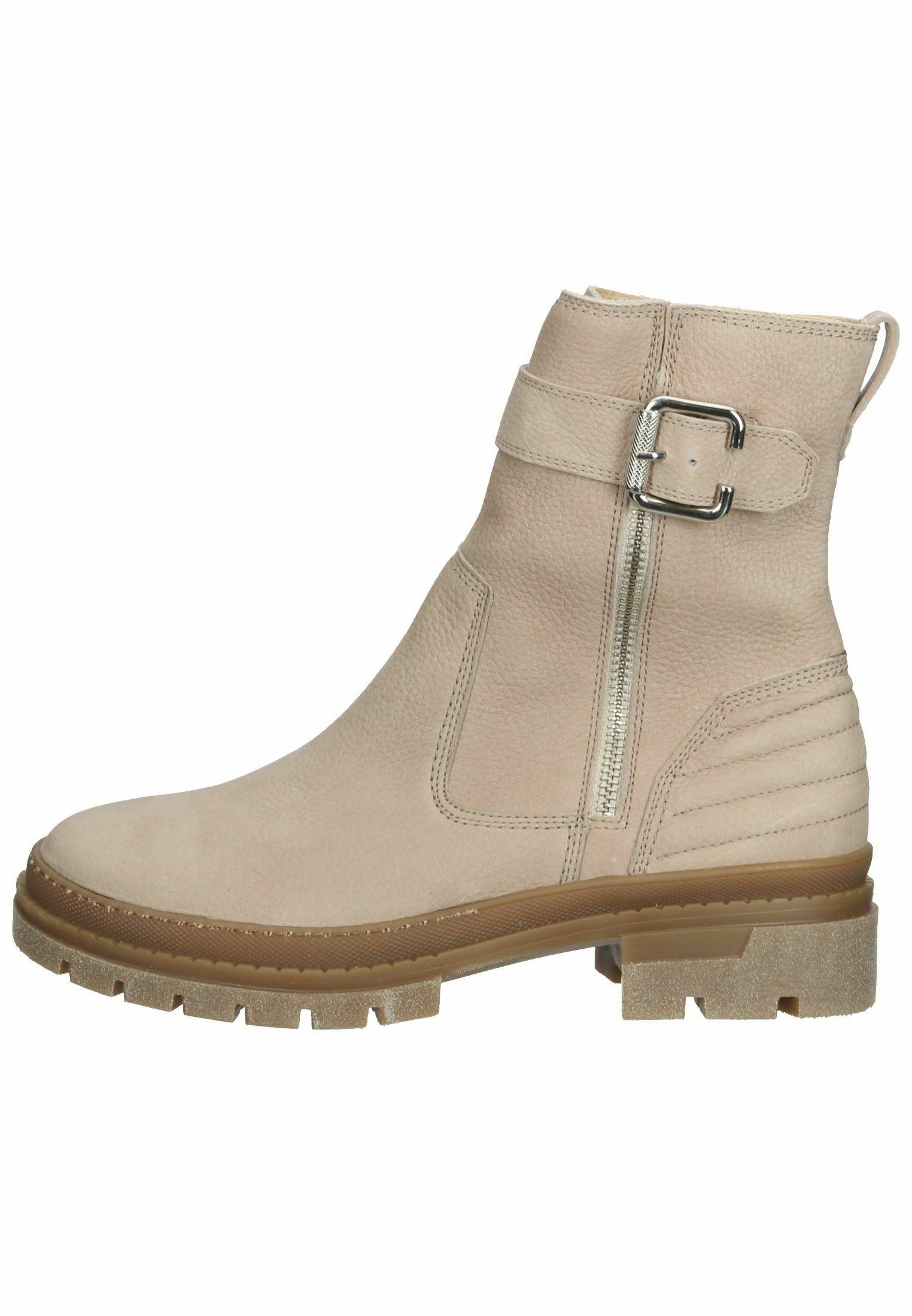 Damen Ankle Boot - beige