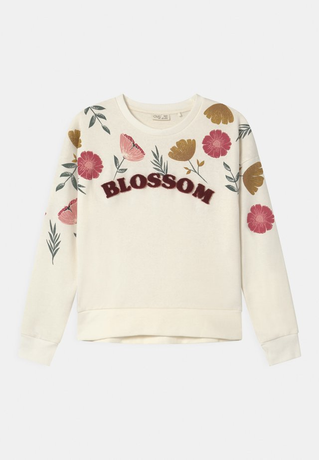 FLOWERS - Sweatshirt - cannoli cream