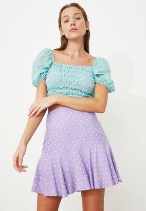 PARENT - Spódnica trapezowa - purple