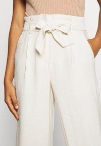 Vero Moda - VMEMILY CULOTTE PANT - Trousers - birch - 4
