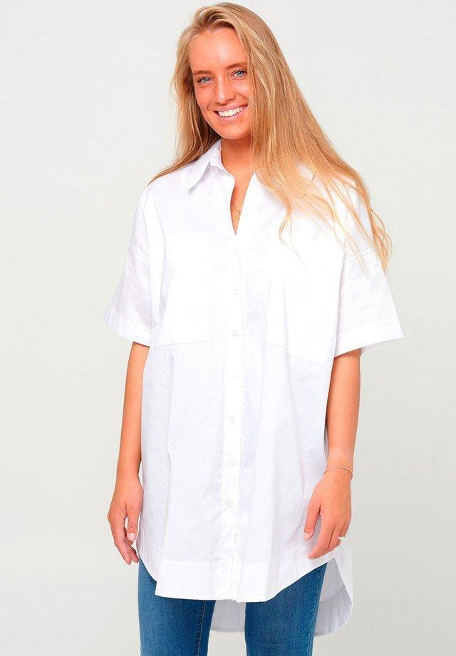 MAIDEN - Button-down blouse - white