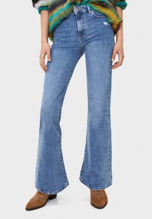 MIT SCHLAG - Široké džíny - blue denim