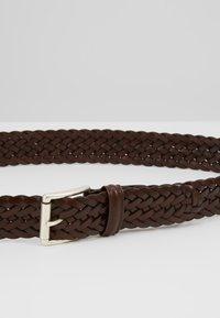 Anderson's - WOVEN BELT - Braided belt - dark brown - 5