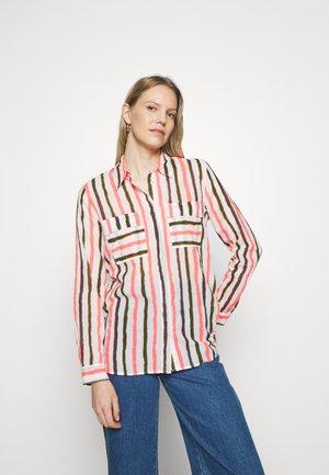 Skjorta - white/pink