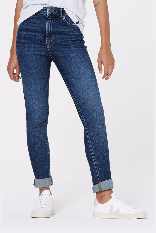 AL-MA  - Slim fit jeans - blue
